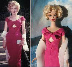 silktone Barbie OOAK costumes Niagara Marilyn Monroe