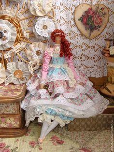 Аврора (интерьерная кукла Тильда) #tilda #doll