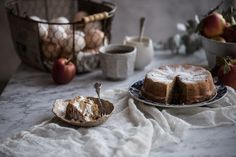 Apple And Almond Cake - Cook Republic Almond Recipes, Gluten Free Recipes, Apple And Almond Cake, Almond Flour Cakes, Apple Harvest, Eat Cake, Food Print, Cake Recipes, Sweets