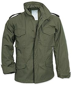 Mens Olive US Military Field Army Combat Jacket Vintage Parka Coat liner Size: L M65 Jacket, Combat Jacket, Jacket Men, Military Field Jacket, Military Style Jackets, Army Jackets, Outerwear Jackets, Military Fashion, Mens Fashion
