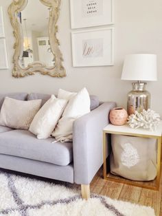 danielle oakey interiors: Light & Chic Home Tour!
