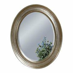 Bellagio Silver Leaf Wall Mirror
