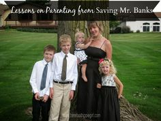 Barefoot Hippie Girl: Lessons On Parenting from Saving Mr. Banks
