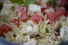 Orzo Salat, Feta Salat, Php, Pasta Salad, Cabbage, Grains, Rice, Vegetables, Ethnic Recipes