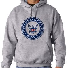 Officially Licensed U.S. Navy Emblem Blue Hooded Sweatshirt now available! These Comfortable Hoodies are made from soft polyester & fleece to keep you warm and also provide moisture wicking technology for dryness. Our printing technology ensures high quality as the imagery will never crack, peel, unravel or fade over time. Hooded Sweatshirts are Designed, Printed & Sublimated in the USA -Fabric Imported.