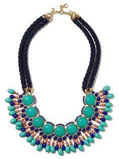 Moroccan Necklace | Banana Republic: Can't wait to wear this with my maxi dresses this summer!