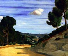 Road in Provence / Andre Derain - circa 1926-1928