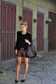 glam4you - nati vozza - look - marrom e preto - coordenação de cores - givenchy - moschino - isabel marant -