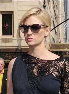 be8838fb5fc January Jones in Versace Sunglasses VE4208 913 13 Police Sunglasses