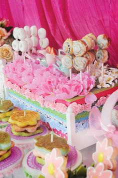 OMG.  This is too cute.  I need my daughter to be a lil' princess again!  princess-and-the-pea-party-desserts