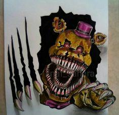 Freddy S, Five Nights At Freddy's, Fnaf Drawings, Art Drawings, Fnaf Wallpapers, Scary Games, Fnaf Characters, Anime Fnaf, Freddy Fazbear