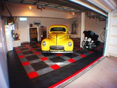 Diamond Garage Flooring | RaceDeck Garage tiles