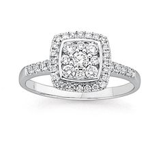 Diamond Engagement Ring   Rings   Prouds The Jewellers