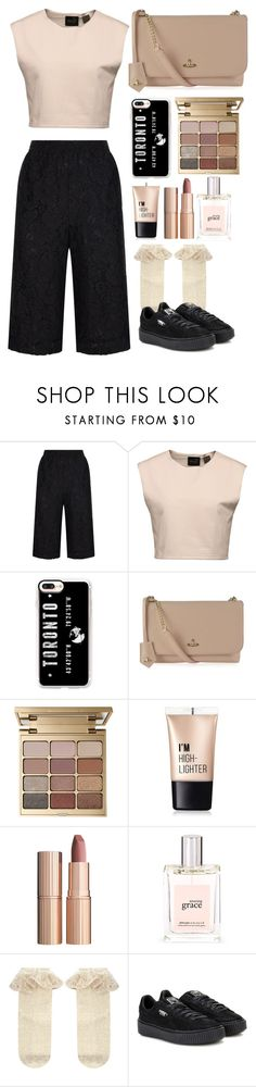 """Untitled #5"" by mmaulidyaa on Polyvore featuring Robert Rodriguez, Puma, Casetify, Vivienne Westwood, Stila, Charlotte Russe, Charlotte Tilbury, philosophy and Monsoon"