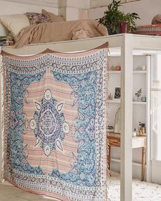 dream room Top places to shop for dorm room decor. From bedding to furniture here is a list of places where you can buy dorm room decor that will transform your dorm Dream Rooms, Dream Bedroom, Bedroom Loft, Master Bedroom, Loft Beds, Bedroom Small, Girls Bedroom, Bunk Beds, Casa Kids