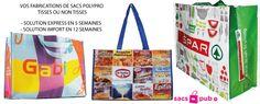 Les sacs publicitaires personnalisés à votre image.