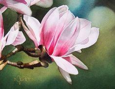 Springtime Friend, painting by artist Jacqueline Gnott