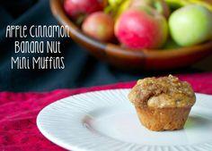 Macke Monologues: Apple Cinnamon Banana Nut Mini Muffins