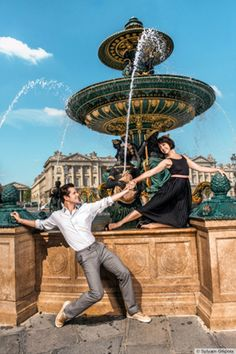 An American In Paris on Broadway in Paris ♥️