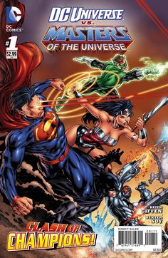 Preview: DC Universe VS The Masters of the Universe #1 - All-Comic.com