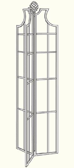 Gartenobelisk - Obelisk II