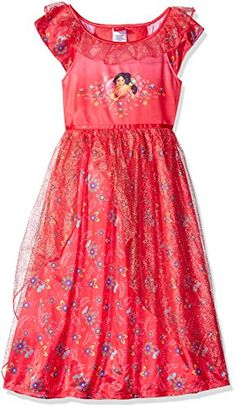 Disney Little Girls' Elena of Avalor Fantasy Nightgown, R... https://www.amazon.com/dp/B01KKVN2DK/ref=cm_sw_r_pi_dp_x_myd0ybF75QA9B