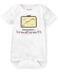 Sara Kety Infant Unisex GPS Grandparent Bodysuit - Sizes 0-18 Months | Bloomingdale's