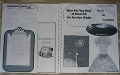 Creation Science Lapbook by In the Hands of a Child to go with the Creation Science book by Felice Gerwitz.