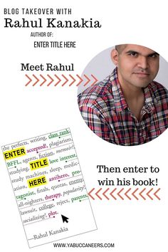 Blog Takeover & Giveaway with ENTER TITLE HERE author Rahul Kanakia  http://www.yabuccaneers.com/blog/2016/8/10/interview-giveaway-with-enter-title-here-author-rahul-kanakia