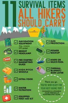 Hiking Gear List, Hiking Checklist, Hiking Spots, Backpacking Gear, Hiking Tips, Baby Hiking, Hiking With Kids, Camping And Hiking, Backpack Essentials