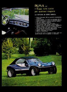 """PUMA    (Italia) (1968 - 1996) La marca """"Puma"""" de Roma  es la única empresa que continuó produciendo artículos similares a los Buggies.  Sus..."""