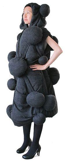 futuristic fashion from company. craziness!