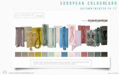 fashion colourcard 16-17 WGSN
