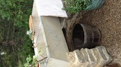Garden sink installed in our garden by Matt Garber @karagarber