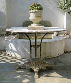 Die 250 besten bilder von vintage gardentable and furniture gardens und garden deco - Schmiedeeiserne gartenmobel ...