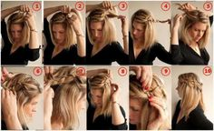 10 Awesome Hairstyles For Lazy Girls 11