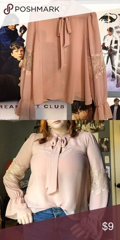 12b83f448069 Forever 21 blouse Nice pink in color forever 21 blouse  worn once for a  gender