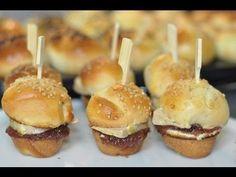 Recette de Noël : mini burgers maison figue et foie gras