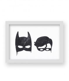 A4 BATBOYS PRINT - Little Pop Studios