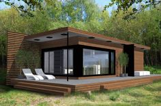 Container House - Container House - Gabriola Cottage Who Else Wants Simple Step-By-Step Plans To Design And Build A Container Home From Scratch? - Who Else Wants Simple Step-By-Step Plans To Design And Build A Container Home From Scratch? Prefab Homes, Modular Homes, Small House Design, Modern House Design, Minimalist House Design, Contemporary Design, Casas Containers, Building A Container Home, Modern Cottage