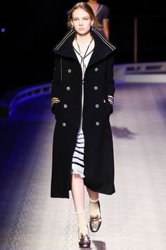 Tommy Hilfiger set sail with his fall-winter 2016 collection presented during New York Fashion Week. The Park Avenue Armory was made over into the T.H. Atlantic with a lineup of early twentieth century inspired wares.