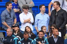 Niall at Chelsea's match today 5/24/15