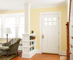 How to Build a Columned Room Divider | Home Decor News
