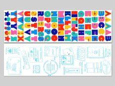 Alphabet sticker love! (80s Alphabet Stickers)