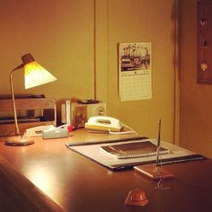 It took a long time to get the office looking this clean, but it was worth it. #bates #motel