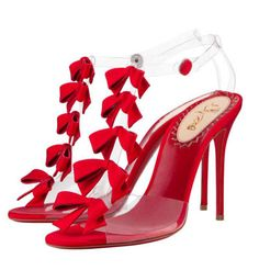 Little bows! From the Christian Louboutin 20th Anniversary Capsule Collection