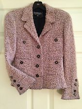 Chanel Button & Tweed Jacket