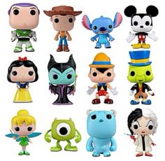 DISNEY FUNKO POP SERIES 1