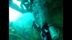 WRECK Scuba Diving in Punta Cana Dominican Republic - ASTON SHIPWRECK Sc...