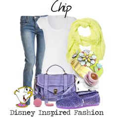 """""""Chip - from Disney's Beauty and the Beast"""" by elliekayba on Polyvore"""